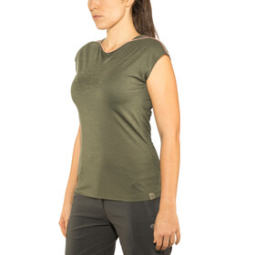 Millet Cloud Peak Short Sleeve Shirt Dam grape leaf